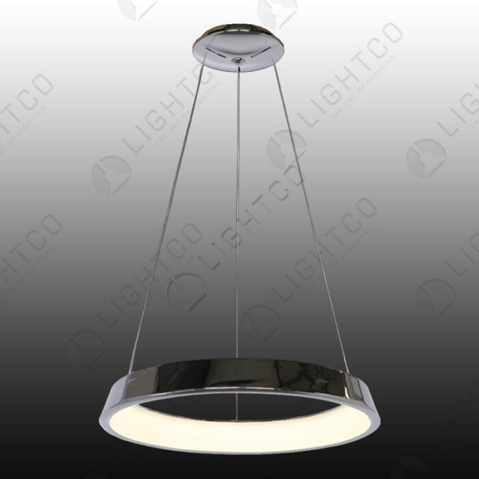 PENDANT ROUND LED RING WHITE