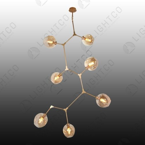 PENDANT 7 LIGHT MOLECULE LIGHT