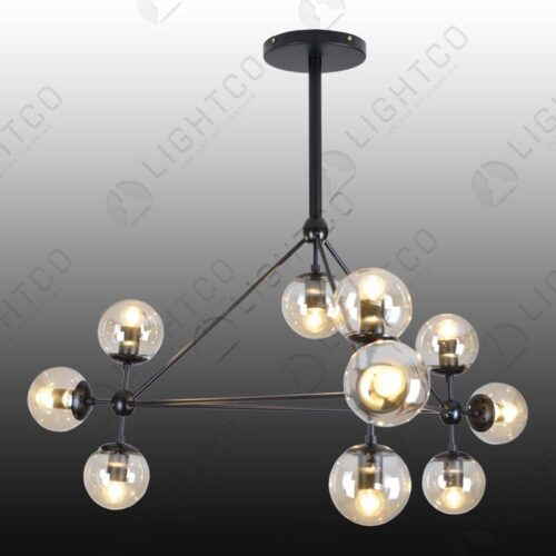 PENDANT 10 LIGHT MOLECULE LIGHT