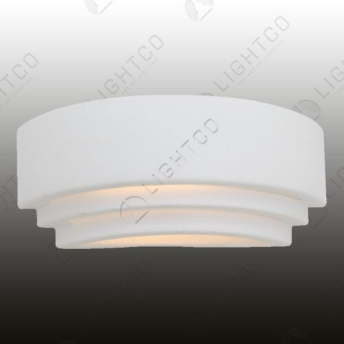 WALL LIGHT GYPSUM GROOVED