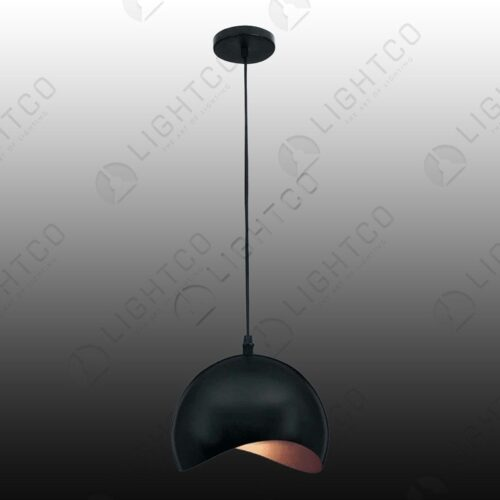 PENDANT METAL WITH CURVED EDGE