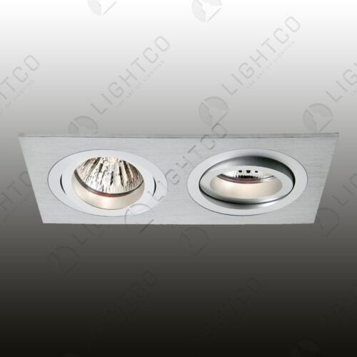DOWNLIGHT TILT RECTANGLE CNC