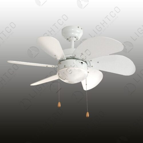 FAN 6 BLADE MINI TURBO WITH LIGHT