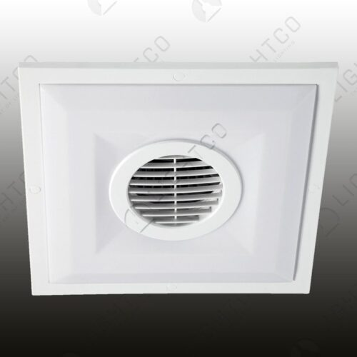 EXTRACTOR SQUARE CEILING MOUNT WITH LIGHT