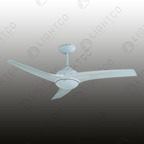 FAN METAL BODY PLASTIC BLADE WHITE