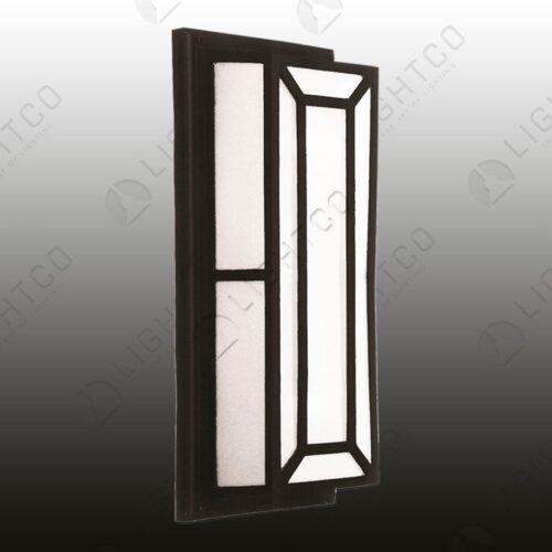 BULKHEAD RECTANGULAR FROSTED GLASS