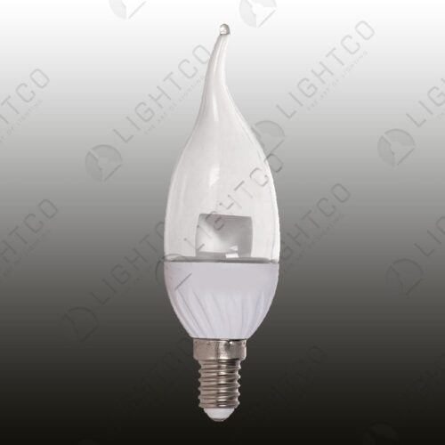 LED CANDLE 5W E14 FLAME WARM WHITE BRIGHTSTAR