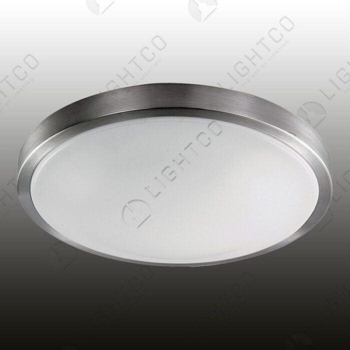 CEILING LIGHT ALUMINIUM AND PLASTIC LENS MEDIUM