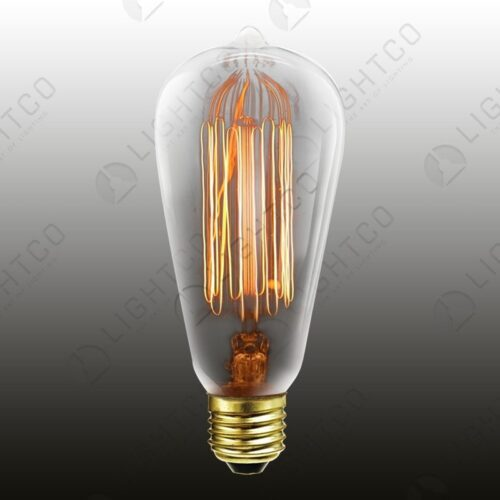 FILAMENT LAMP 60W ES BALLOON