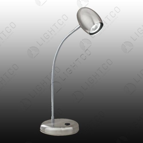 DESK LAMP WITH ADJUSTABLE GOOSE NECK