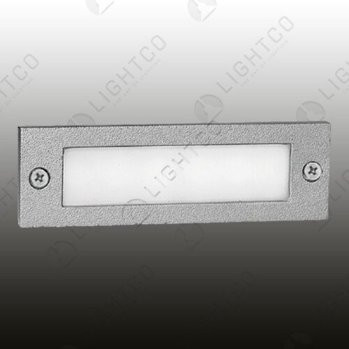 FOOT LIGHT RECESSED PLAIN RECTANGLE