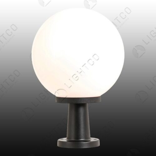 COMPLETE SPHERE AND PEDESTAL OPAL 300MM