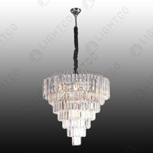 CHANDELIER LARGE RECTANGULAR CRYSTAL