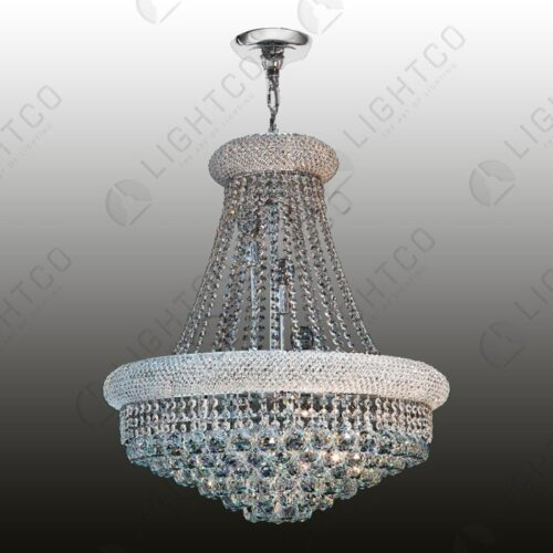 CHANDELIER BASKET K9 CRYSTAL