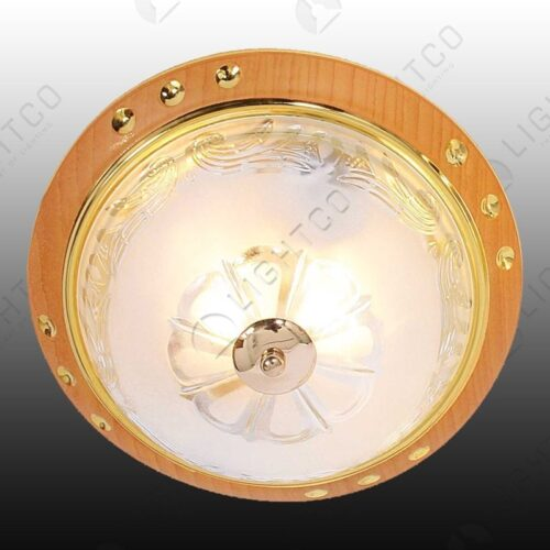 CEILING LIGHT FROSTED GLASS PATTERN