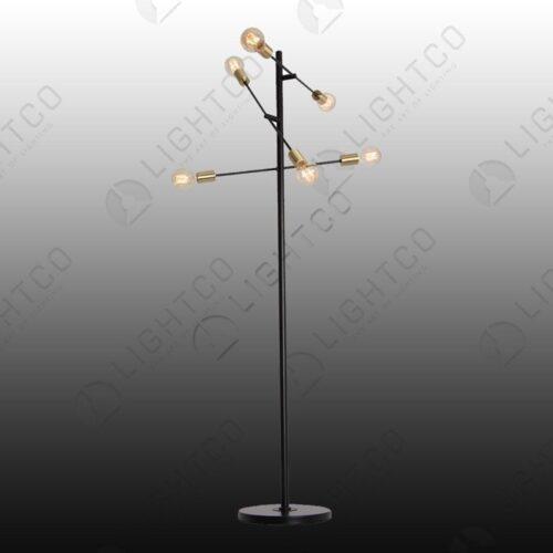 FLOOR LAMP ADJUSTABLE ARMS
