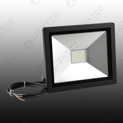 LED FLOOD NANO 50W C/WHT PIOLED 6000K