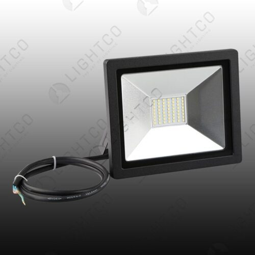 LED FLOOD NANO 30W C/WHT 6000K