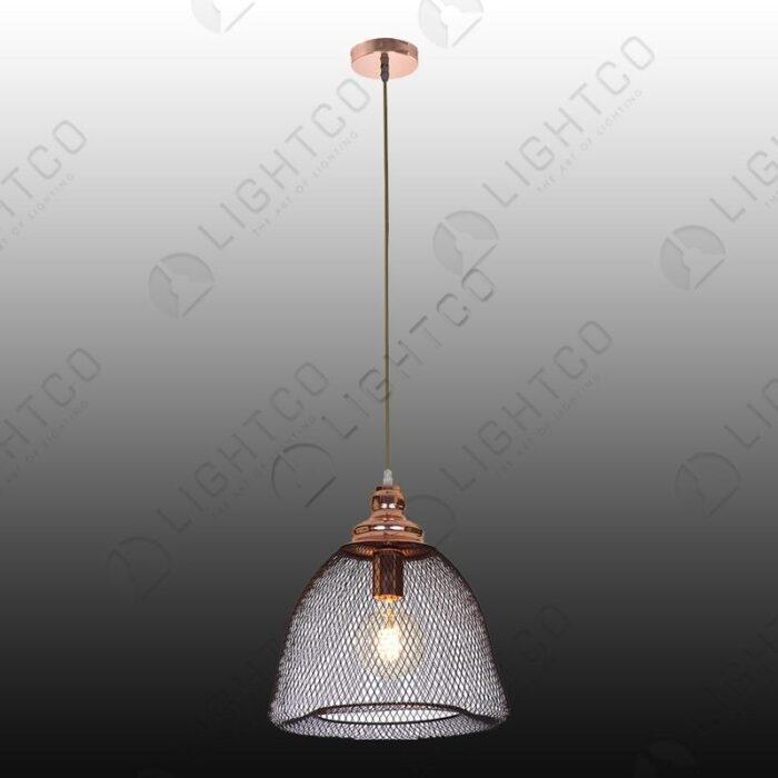 PENDANT CAGE BELL SHAPE