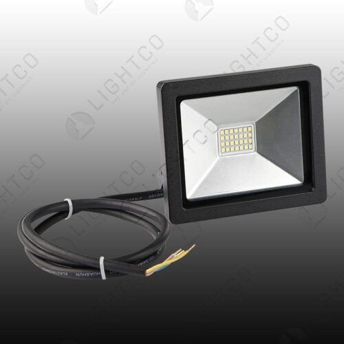LED FLOOD NANO 20W C/WHT 6000K