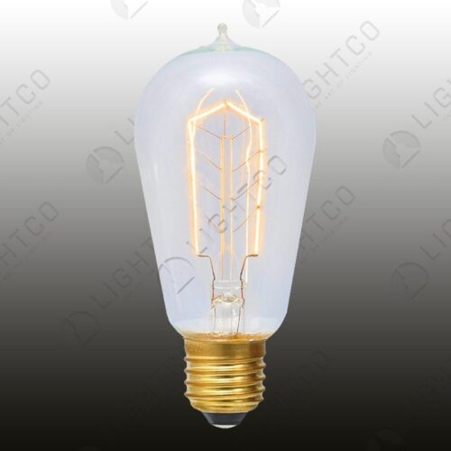 FILAMENT LAMP 60W E27 ROUND SMALL