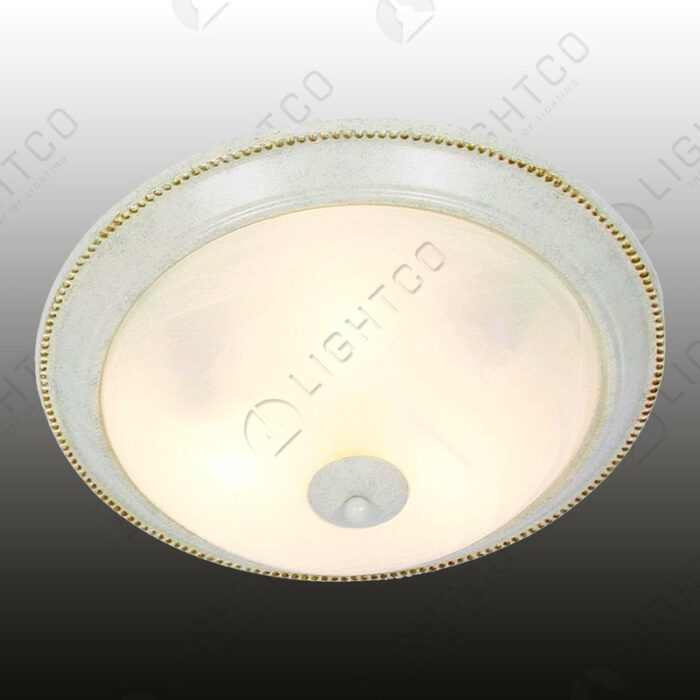 CEILING LIGHT ALABASTER GLASS LARGE