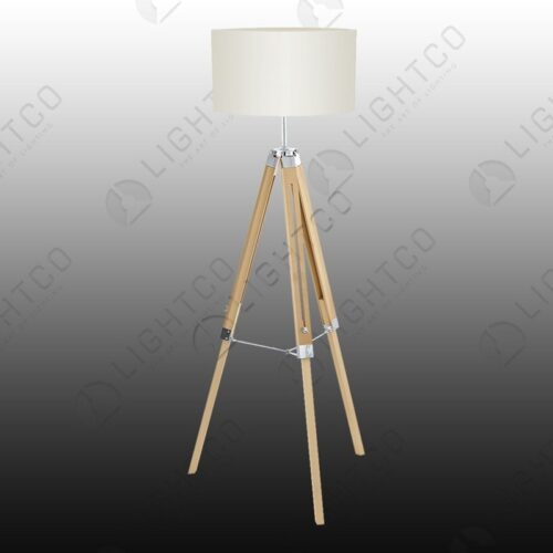 FLOOR LAMP NATURAL BEIGE