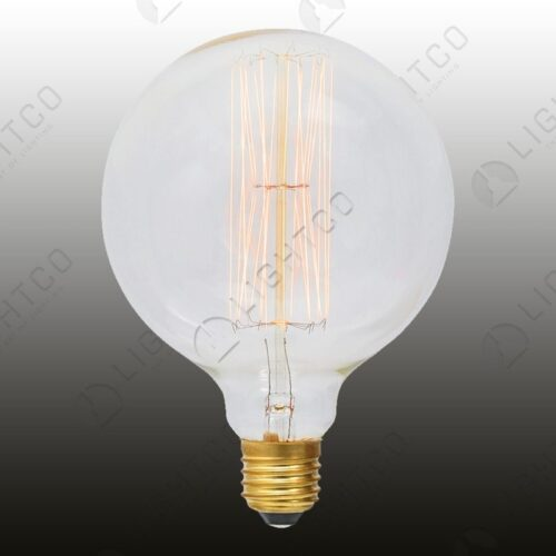 FILAMENT LAMP 60W E27 ROUND LARGE