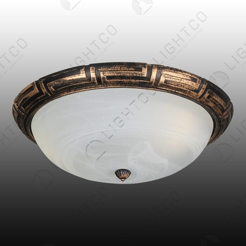 CEILING FITTING RESIN ROPE DETAIL