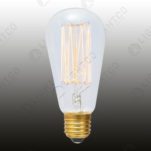 FILAMENT LAMP 40W E27 PEAR SHAPE