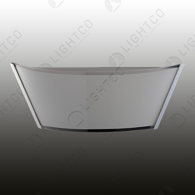 WALL LIGHT OBLONG GLASS