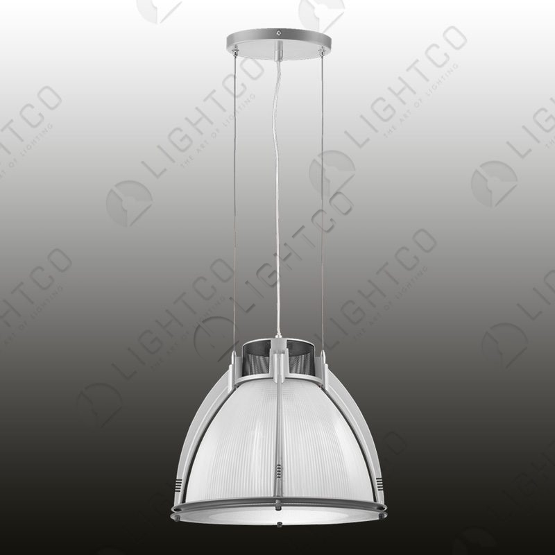 PENDANT ACRYLIC LENS INDUSTRIAL CAGE