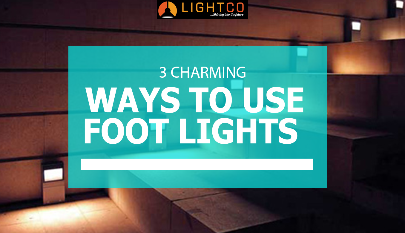 footlights on a staircase
