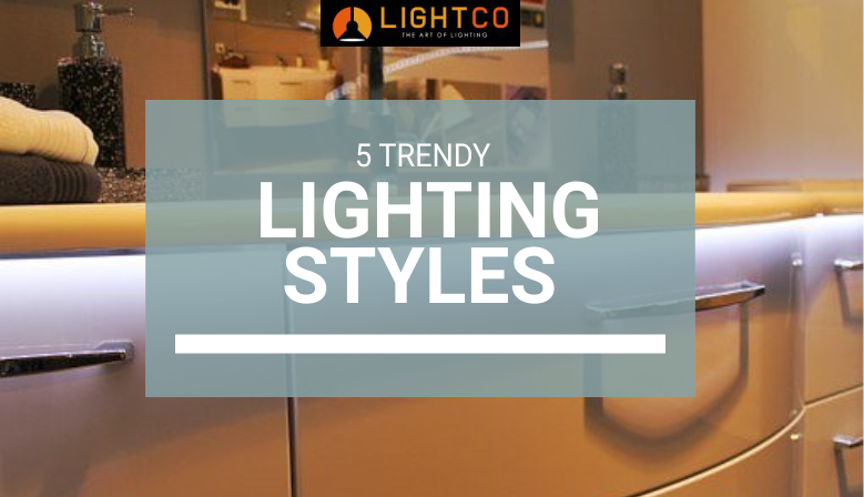 Undercounter LED strip lighting is a lighting style that is very trendy